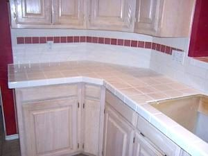 ceramic tile counters